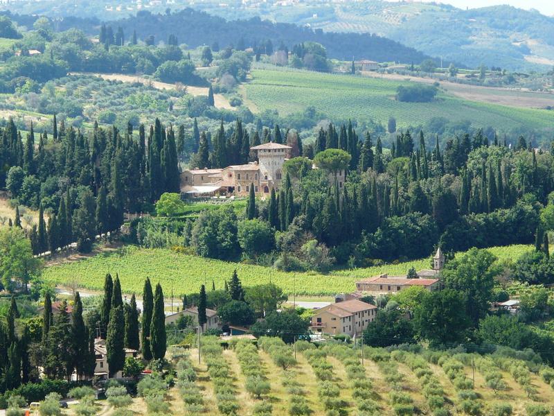 destination Toscane