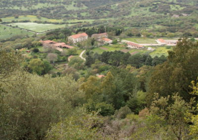 maison forestière au pied du Monte Minerva