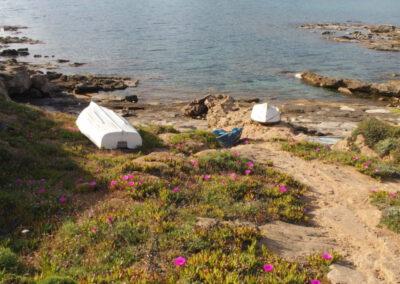 littoral sarde, plage de la Pelosa