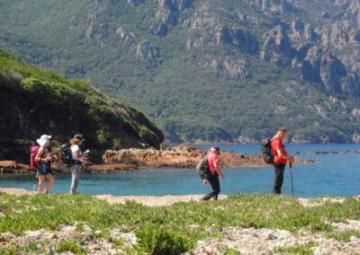 Portfolio séjour randonnée en Corse côte Ouest, mai 2018