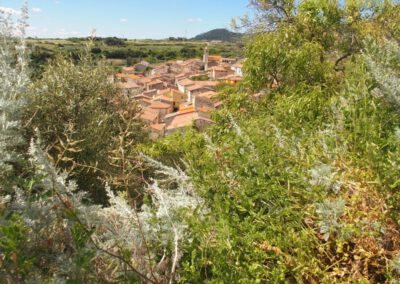 Sardaigne, Logudoro, village de Borutta