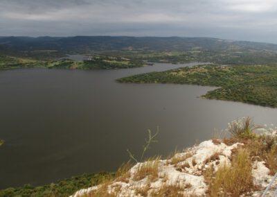 Sardaigne, lac de Monteleone Rocca Doria