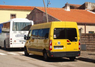 minibus jaune d'Occitanies