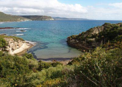 Sardaigne, côte de Bosa