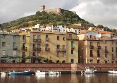Sardaigne, le Temo à Bosa