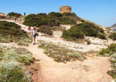 Sardaigne, baie de Porto Ferro