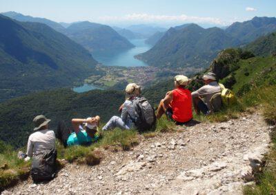 portfolio séjour randonnée sur le lac de Come, juin 2019
