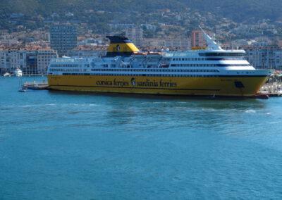 Corsica ferries à Toulon