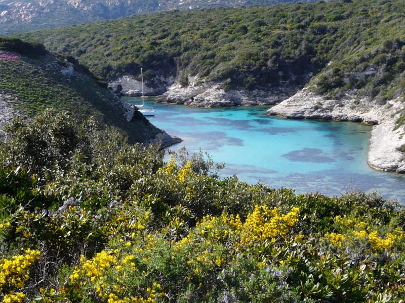 randonnée dans le sud de la Corse