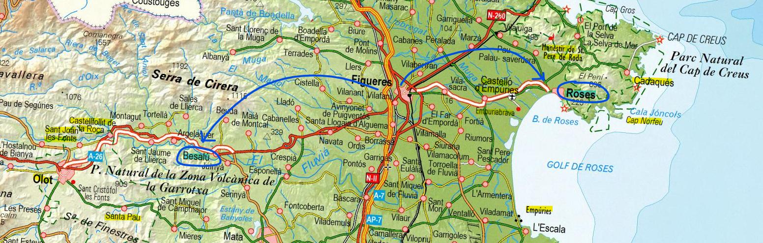 carte de l'Ile d'Elbe