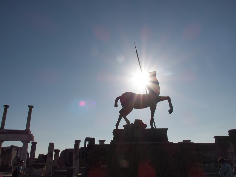 le centaure de Pompei