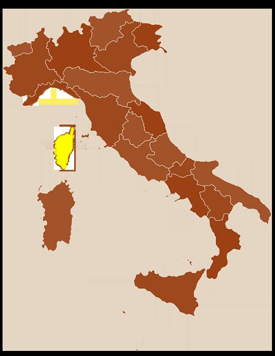 carte de Sardaigne