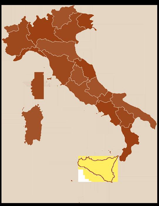 carte Sicile