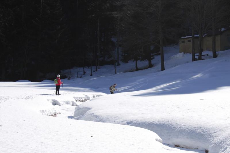 Val Pesio en hiver